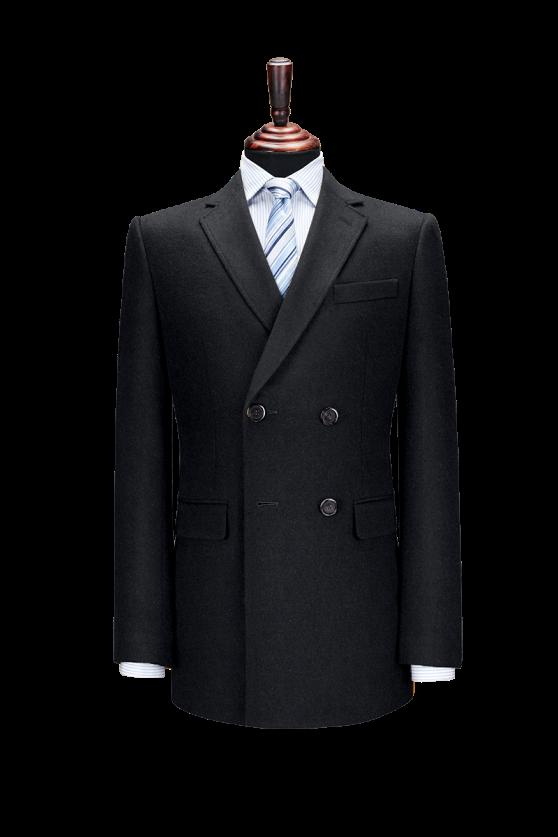 大衣双排二扣